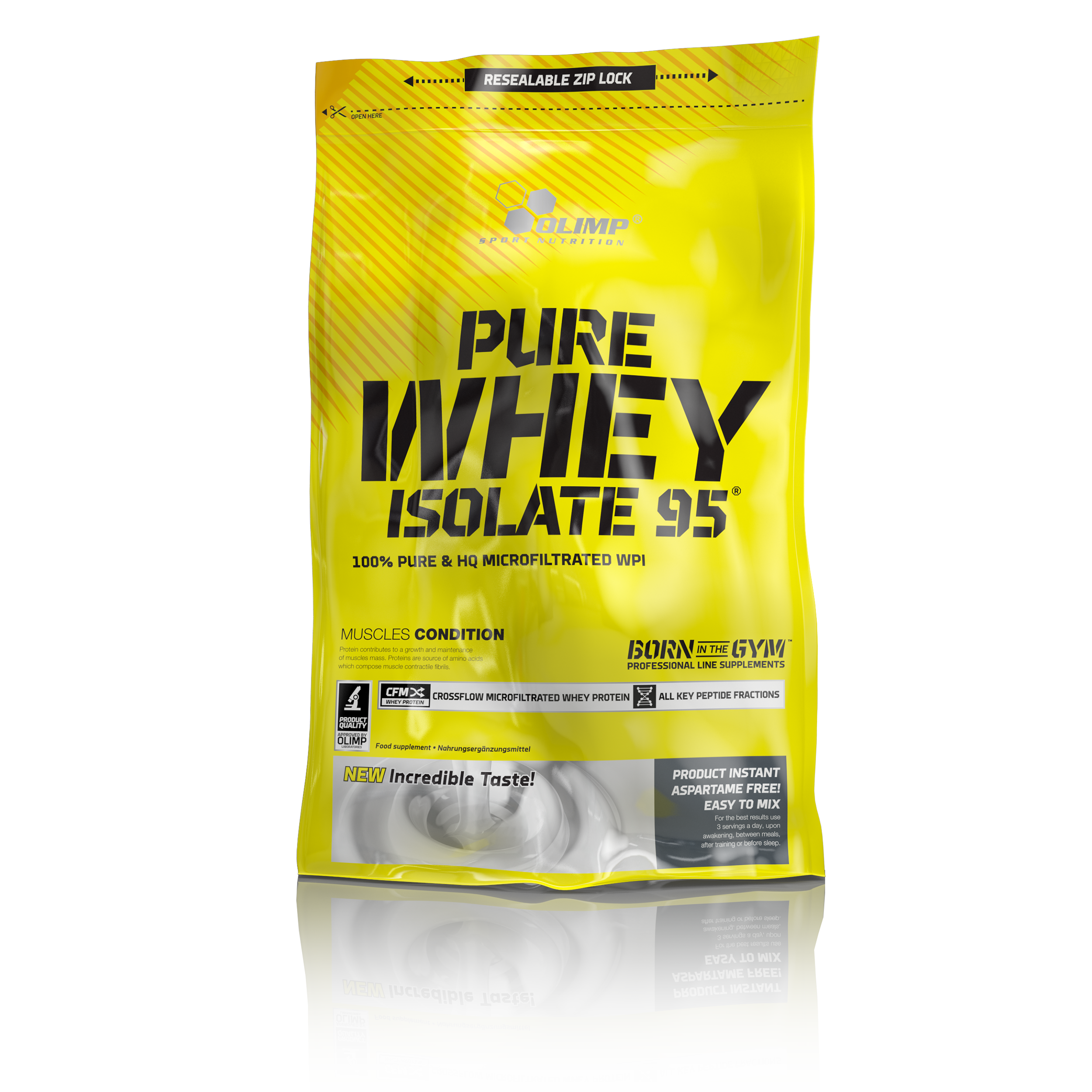 Olimp Pure Whey Isolate 95 (600 гр) Шоколад
