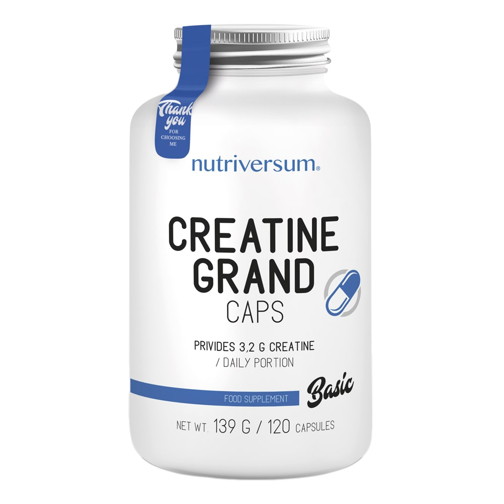 Nutriversum Basic Creatine Grand caps (120 капс)