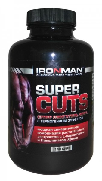 IronMan Super Cuts (140 капс)