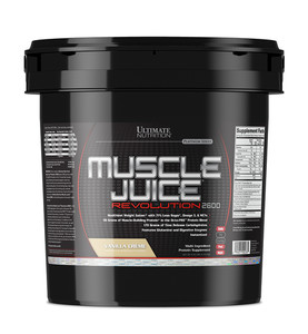 Ultimate Nutrition Muscle Juice Revolution 2600 (5,04 кг.) Ванильный крем