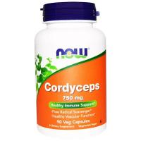 NOW Cordyceps 750 mg (90 капс)