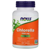 NOW Chlorella 1000 mg (120 табл)