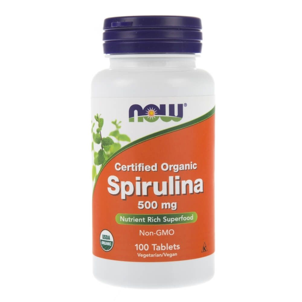NOW Spirulina 500 mg (100 tabs)