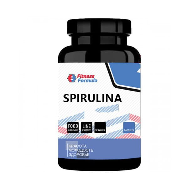 Fitness Formula Spirulina pressed 500 mg (200 табл)
