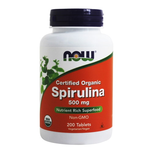 NOW Spirulina 500 mg (200 tabs)