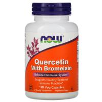 NOW Quercetin with Bromelain (120 капс)