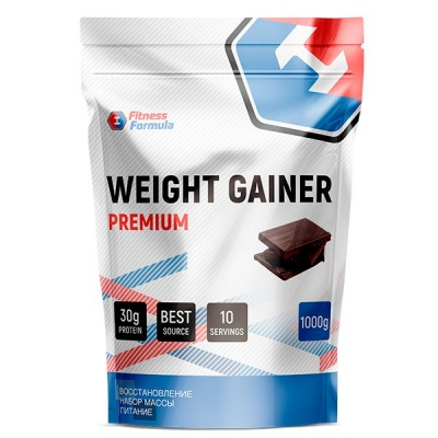 Fitness Formula Weight Gainer Premium (1000 гр) Шоколад