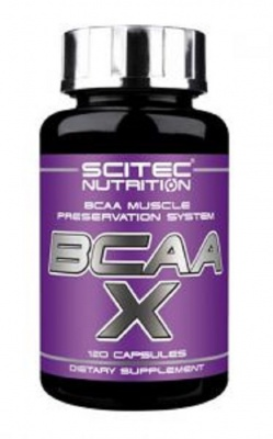 Scitec Nutrition BCAA-X (120 капс)